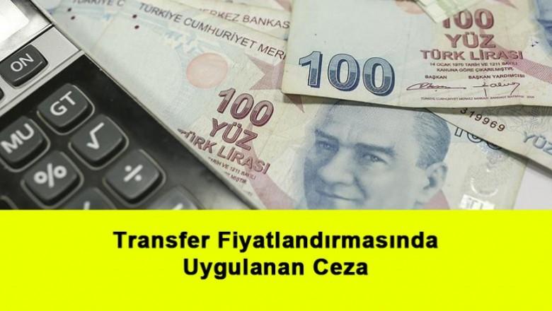 Transfer Fiyatlandırmasında Uygulanan Ceza